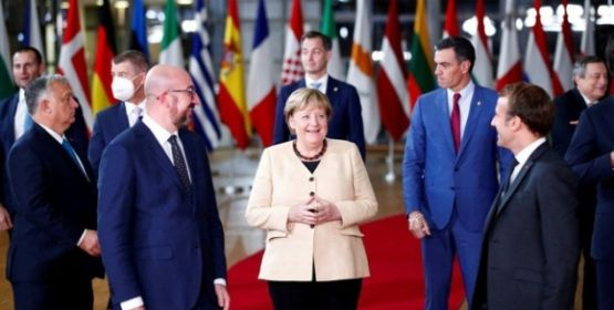 """Lãnh đạo thế giới tạm biệt """"bà đầm thép"""" Angela Merkel"""